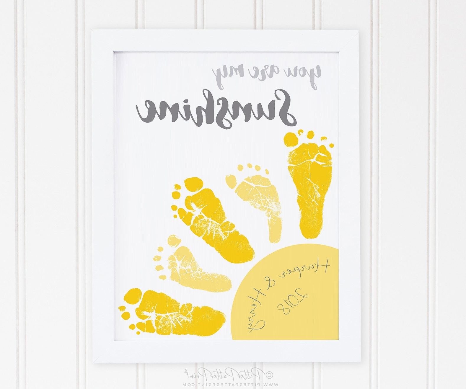 Most Up To Date You Are My Sunshine Wall Art Regarding Pretty Twin Nursery Wall Art Ideas The Wall Art Decorations (View 13 of 15)