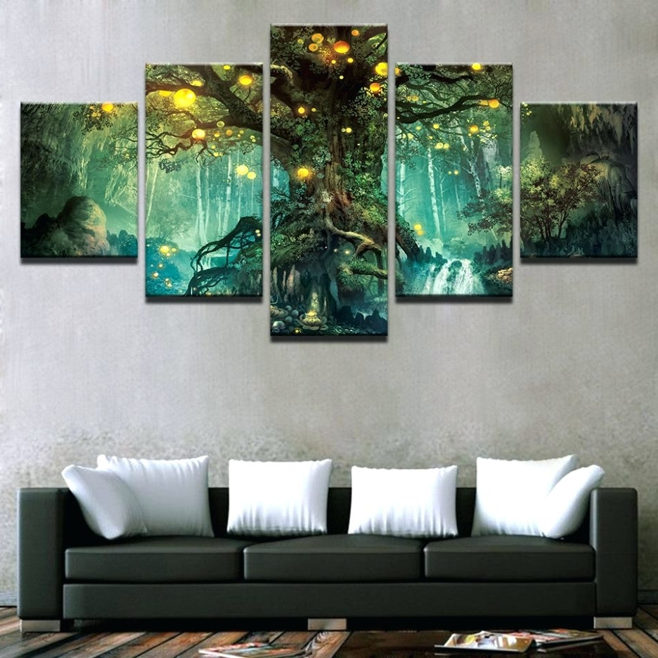 Multi Piece Wall Art – Culturehoop With Well Known Multi Piece Wall Art (View 11 of 15)