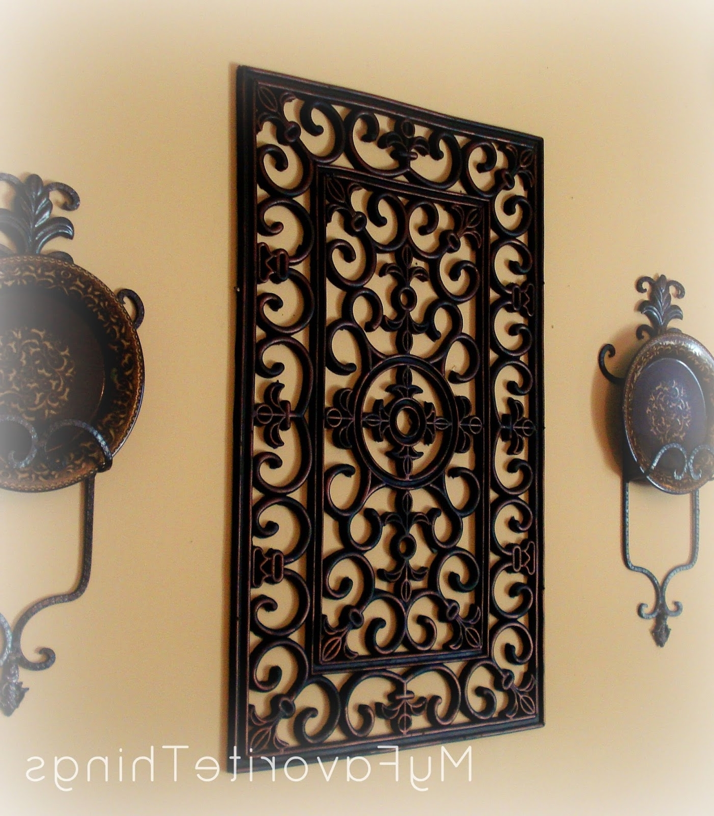 "My Favorite Things: ""wrought Iron"" Wall Art With Regard To Most Recent Iron Wall Art (View 4 of 15)"