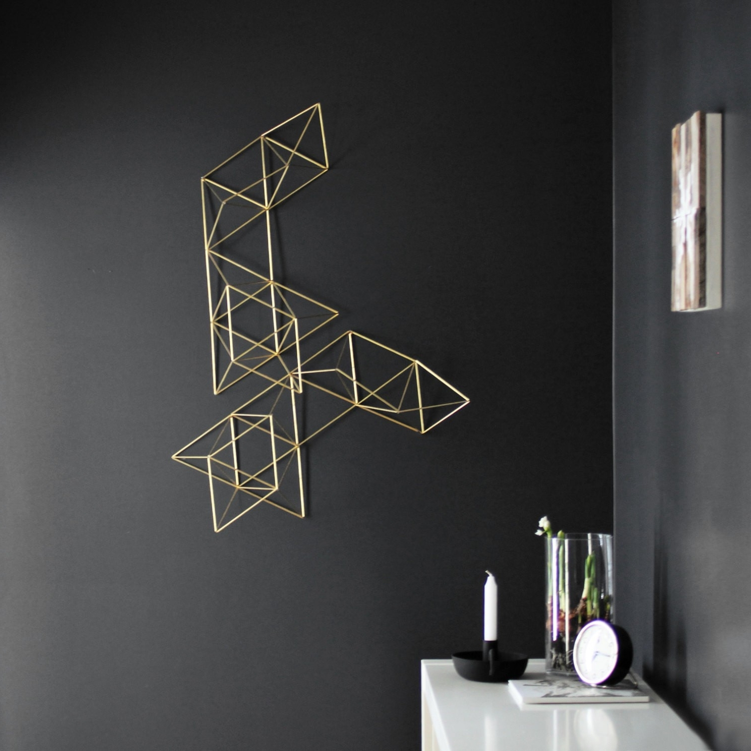 Nana's Workshop For Best And Newest Geometric Metal Wall Art (View 10 of 15)