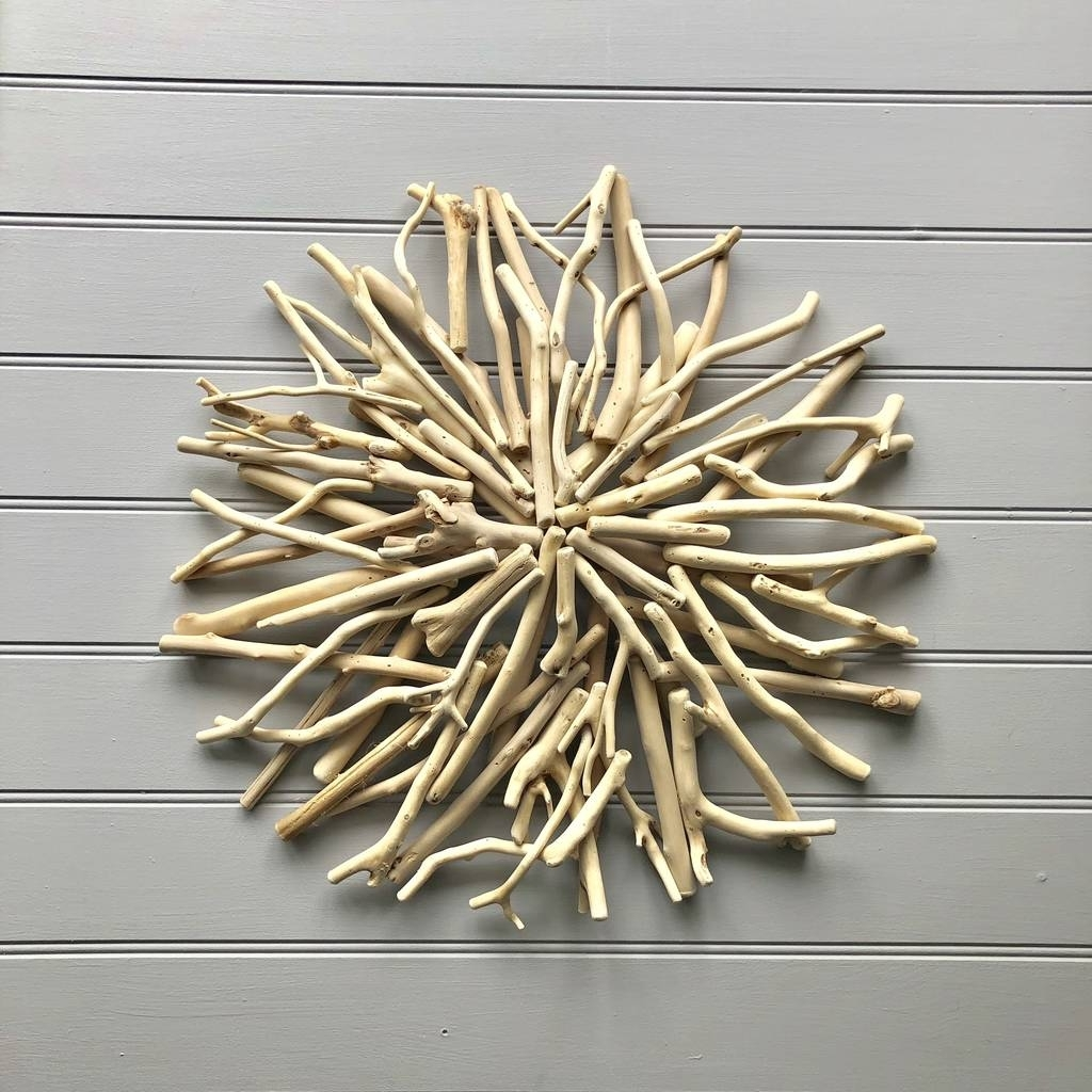 Nautical Driftwood Wall Artthe Nautical Home Intended For Well Liked Driftwood Wall Art (View 2 of 15)