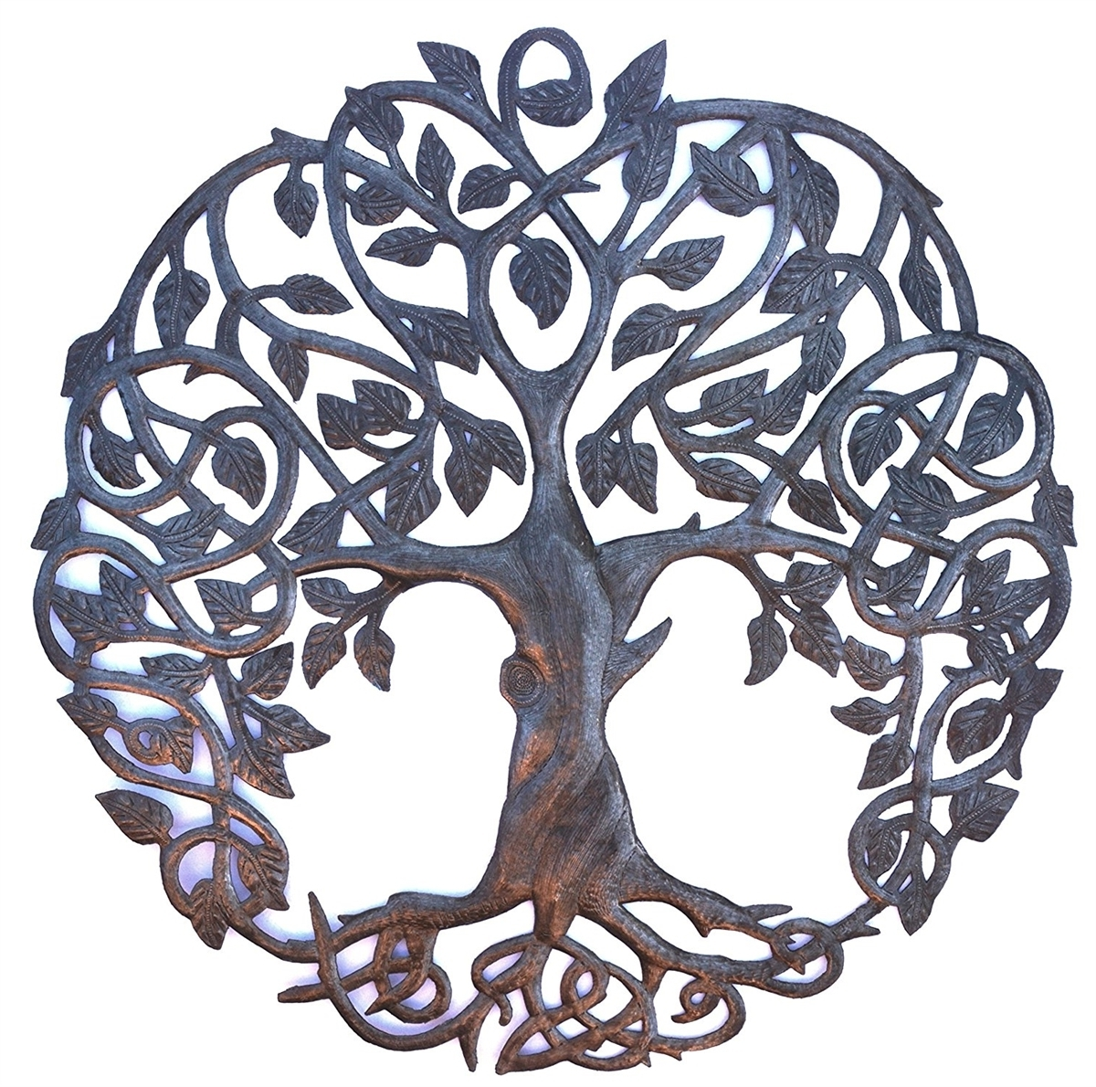 New Design Celtic Inspired Tree Of Life, Metal Wall Art, Fair Trade For Recent Tree Of Life Wall Art (View 14 of 15)