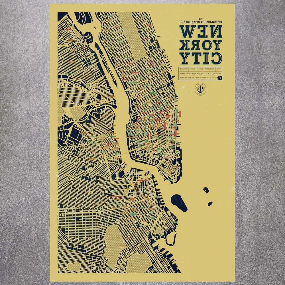New York Subway Map Poster – Portal4Travel Intended For Well Known New York Subway Map Wall Art (View 8 of 15)
