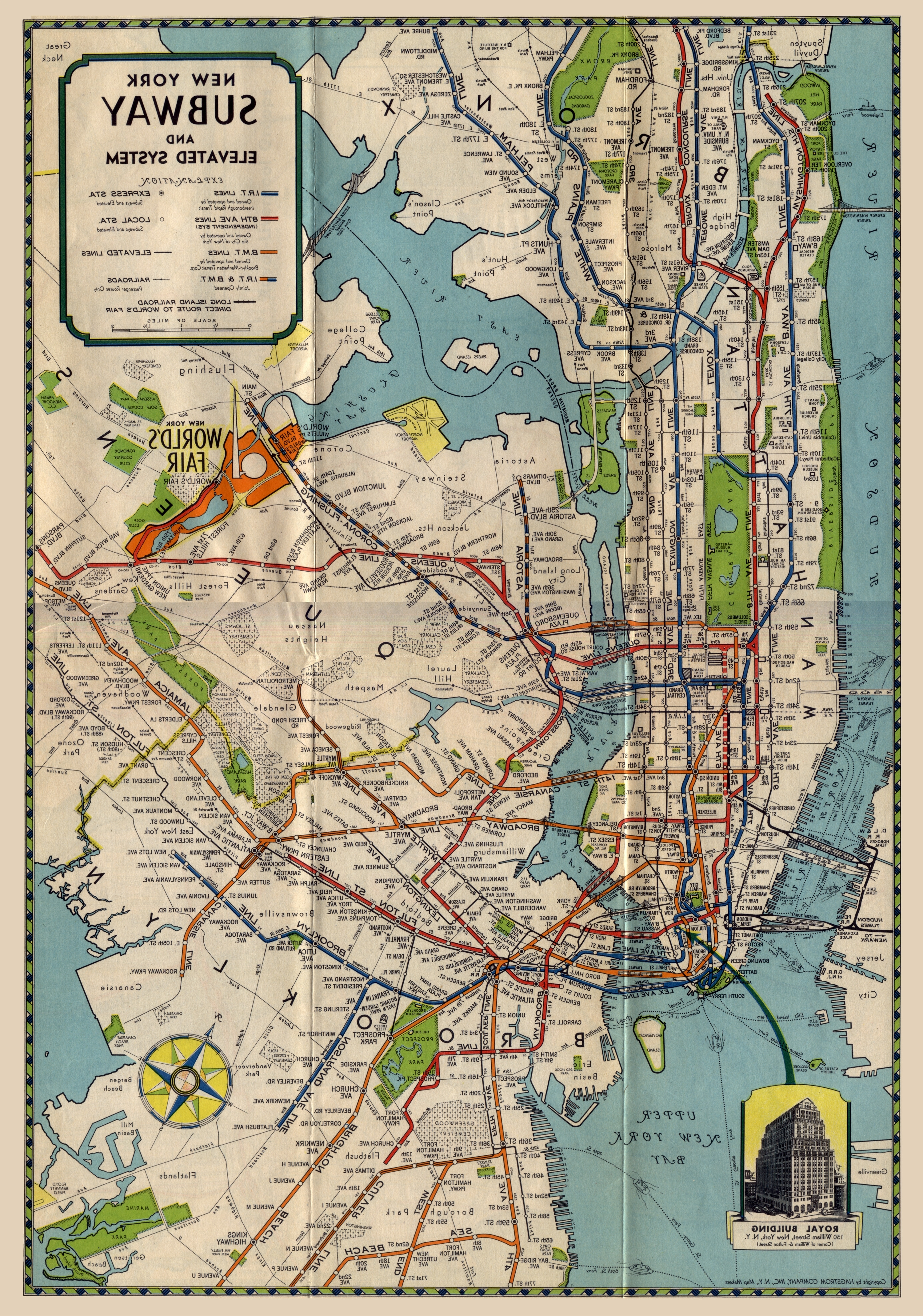 New York Subway Map Wall Art Throughout Trendy Map Of New York City Subway Inspirational It S Shocking How Much Of (View 9 of 15)