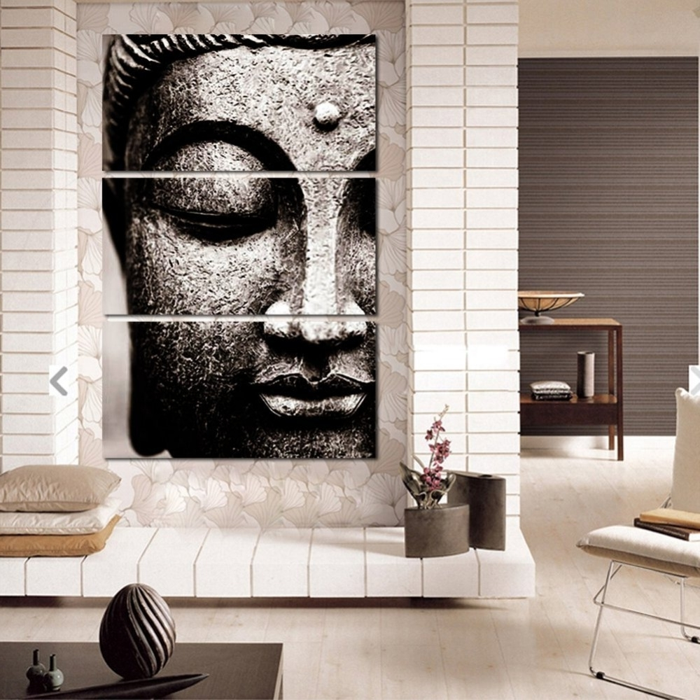 Newest Canvas Pictures Modern Wall Art Framework For Living Room Decor 3 Inside Modern Wall Art (View 13 of 15)