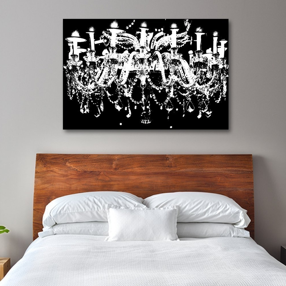 Newest Chandelier Wall Art With D Nice Chandelier Wall Art – Wall Decoration Ideas (View 7 of 15)