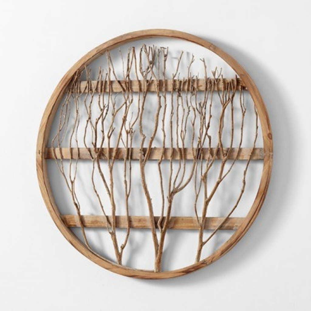 Newest Circular Wall Decor Simple Round Wall Decor – Wall Decoration Ideas Pertaining To Round Wood Wall Art (View 7 of 15)