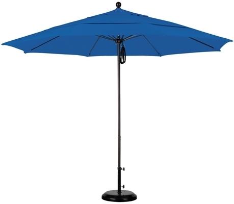Newest Custom Sunbrella Patio Umbrellas With 11' Sunbrella Aa Aluminum Patio Umbrella (View 9 of 15)