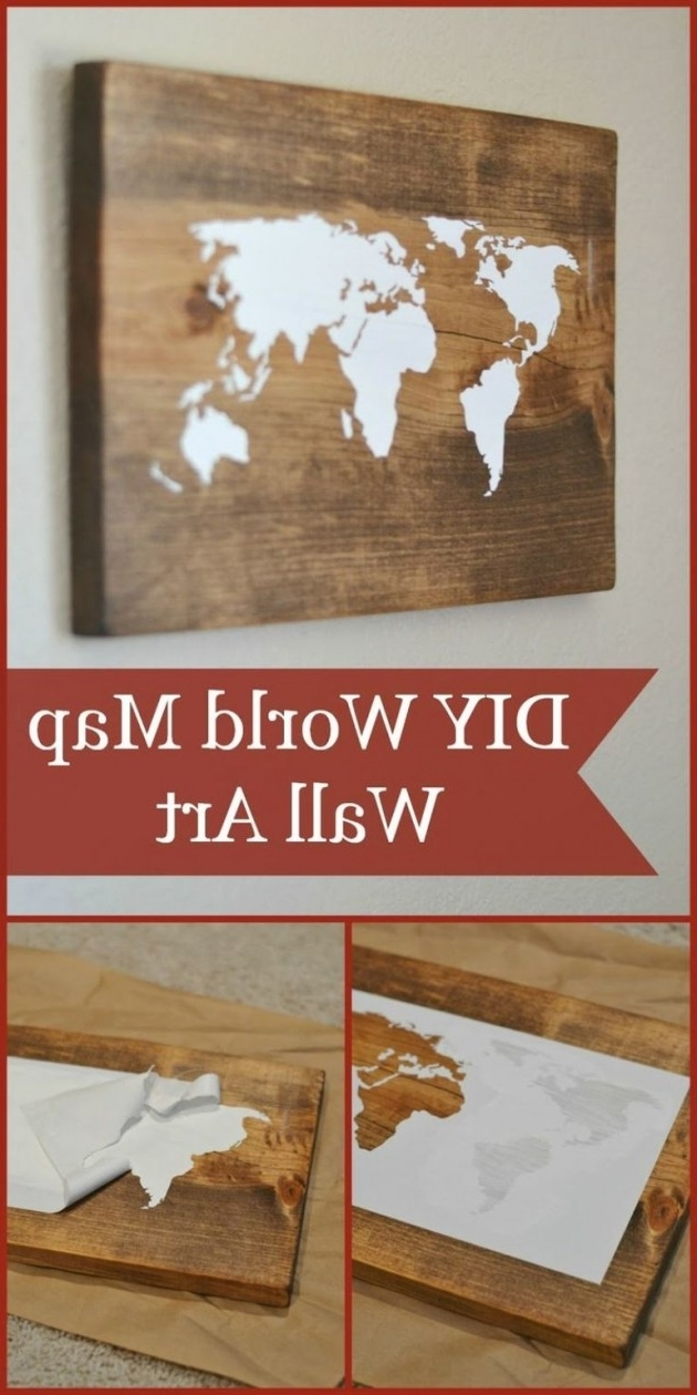 Newest Diy Wall Art Throughout 15 Extremely Easy Diy Wall Art Ideas For The Non Skilled Diyers (View 12 of 15)