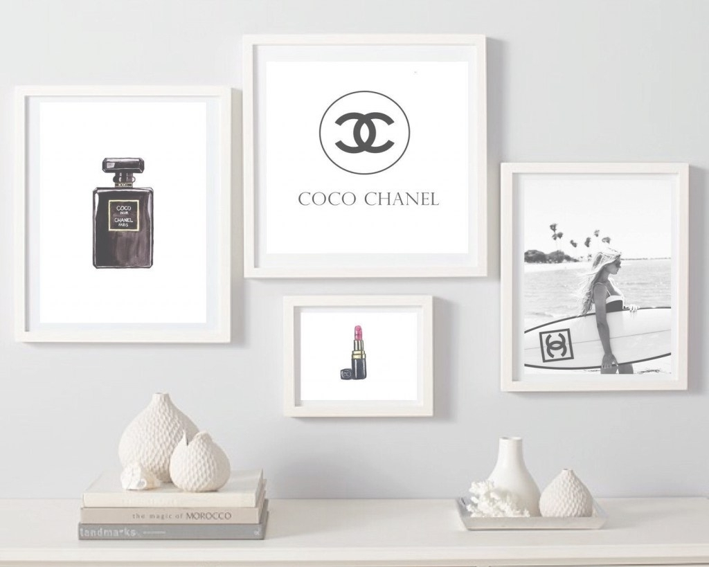 Newest Fashion Wall Art Within Fashion Wall Art Best Of Explore Photos Of Chanel Wall Decor (View 9 of 15)