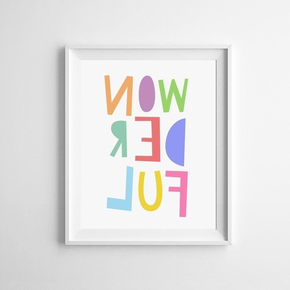Newest Free Printable Wall Art Throughout Printable Wall Art For Kids (View 11 of 15)
