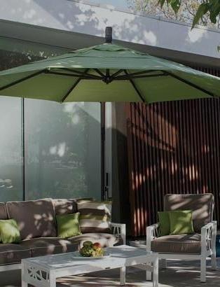 Newest Garden Treasures Patio Umbrellas For Treasure Garden Umbrella Cantilever Umbrellas Garden Treasures Patio (View 8 of 15)