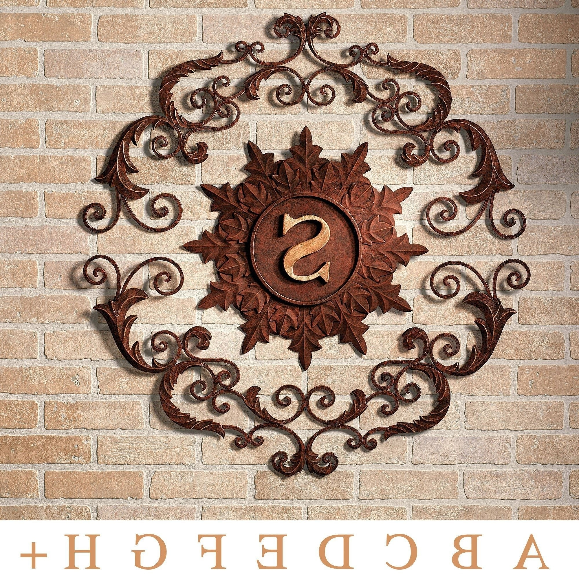 Newest Large Outdoor Metal Wall Art Inside Comfortable Metal Outdoor Wall Decor Luxury Outdoor Metal Wall Art (View 2 of 15)