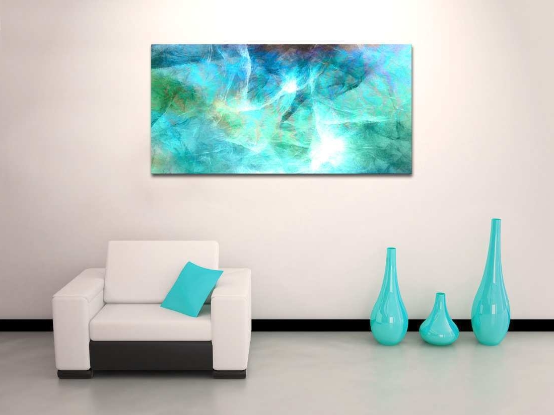 Newest Oversized Teal Canvas Wall Art Intended For Abstract Canvas Wall Art Awesome Oversized Abstract Canvas Art (View 6 of 15)
