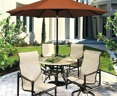 Newest Patio Table With Umbrella Hole Umbrella For Patio Table Table Free For Small Patio Tables With Umbrellas (View 5 of 15)