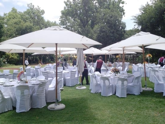 Newest Patio Umbrellas For Rent Intended For Outdoor Umbrella Rental For Functions And Weddings In Gauteng (View 5 of 15)