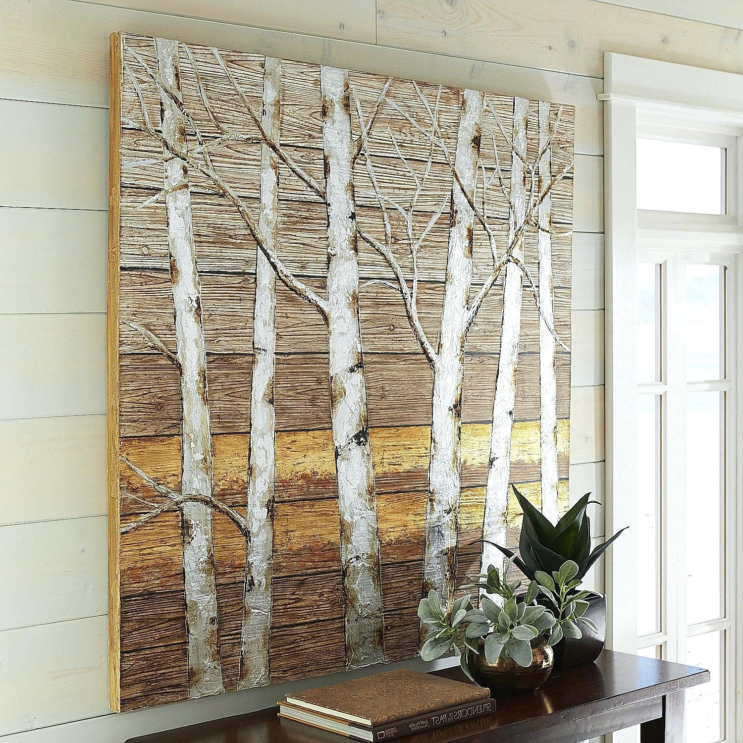Newest Pier 1 Wall Art With Metallic Birch Trees Wall Art Pier 1 Imports One Decor (View 8 of 15)
