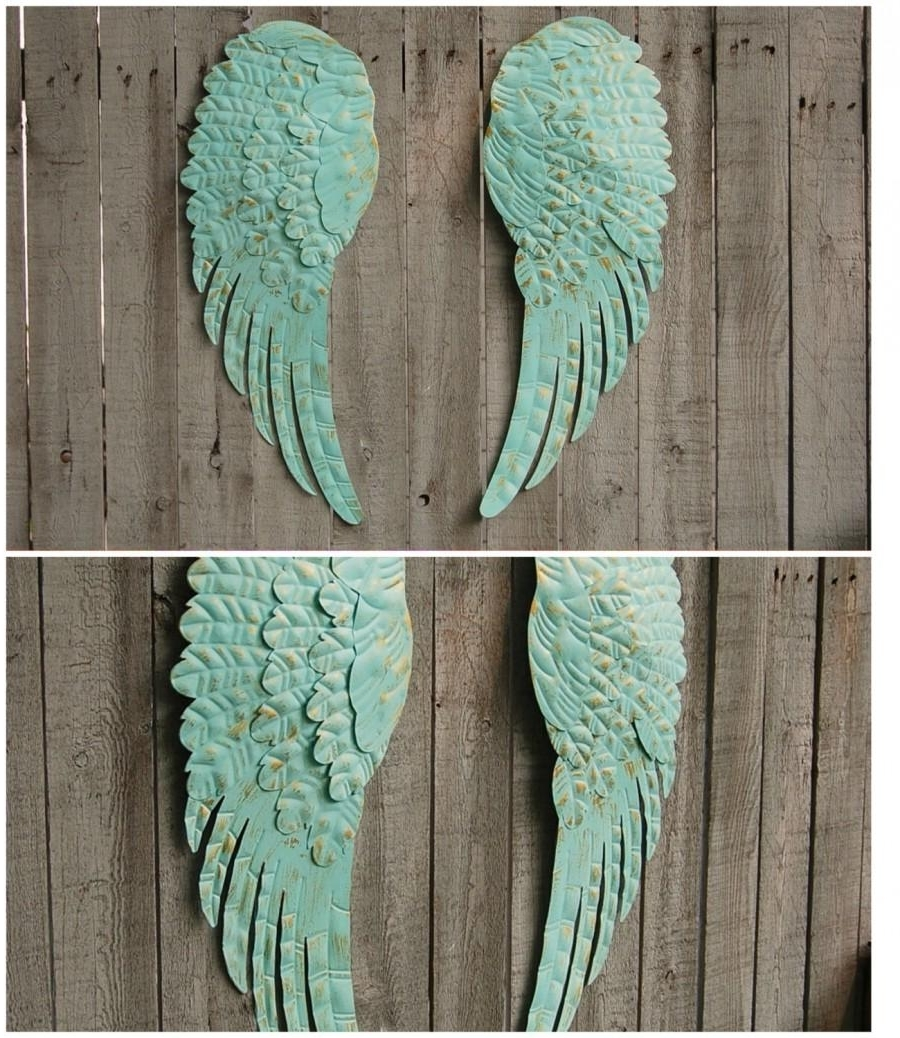 Newest Shabby Chic Wall Art In Shabby Chic Angel Wings Wall Art : Andrews Living Arts – Angel Wings (View 8 of 15)