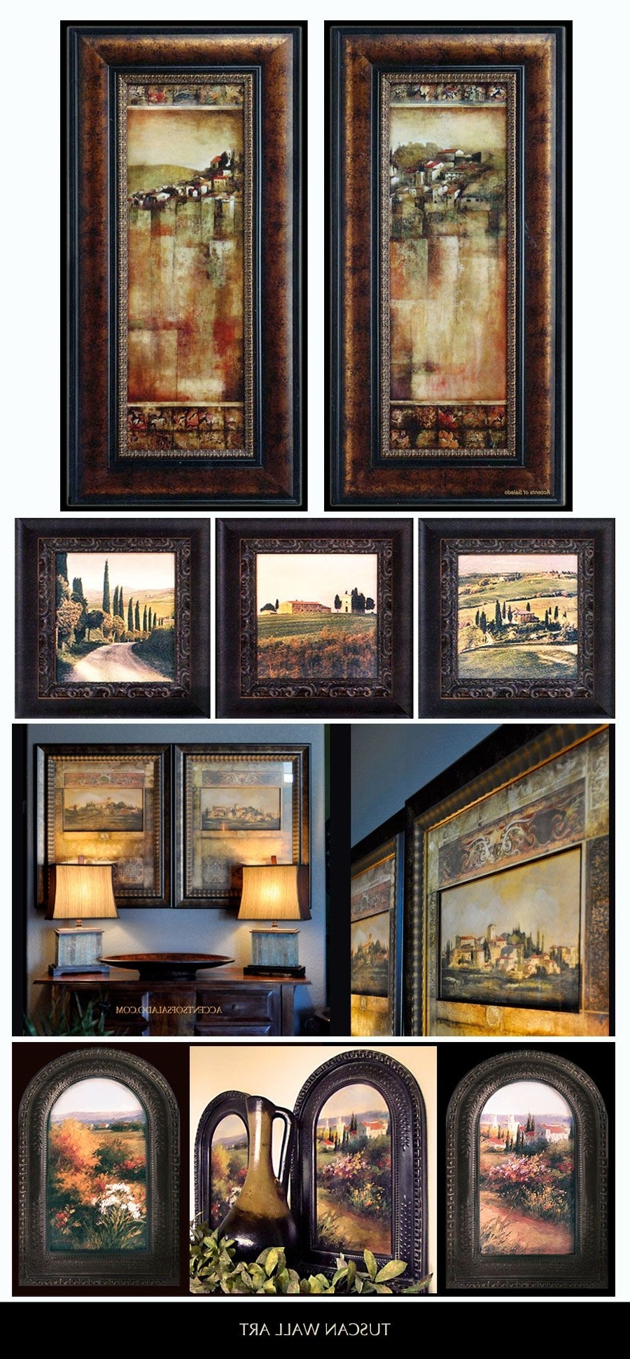 Newest Tuscan Wall Art Inside Tuscan Landscapes – Beautifully Framed Tuscan Artwork Is Our (View 4 of 15)