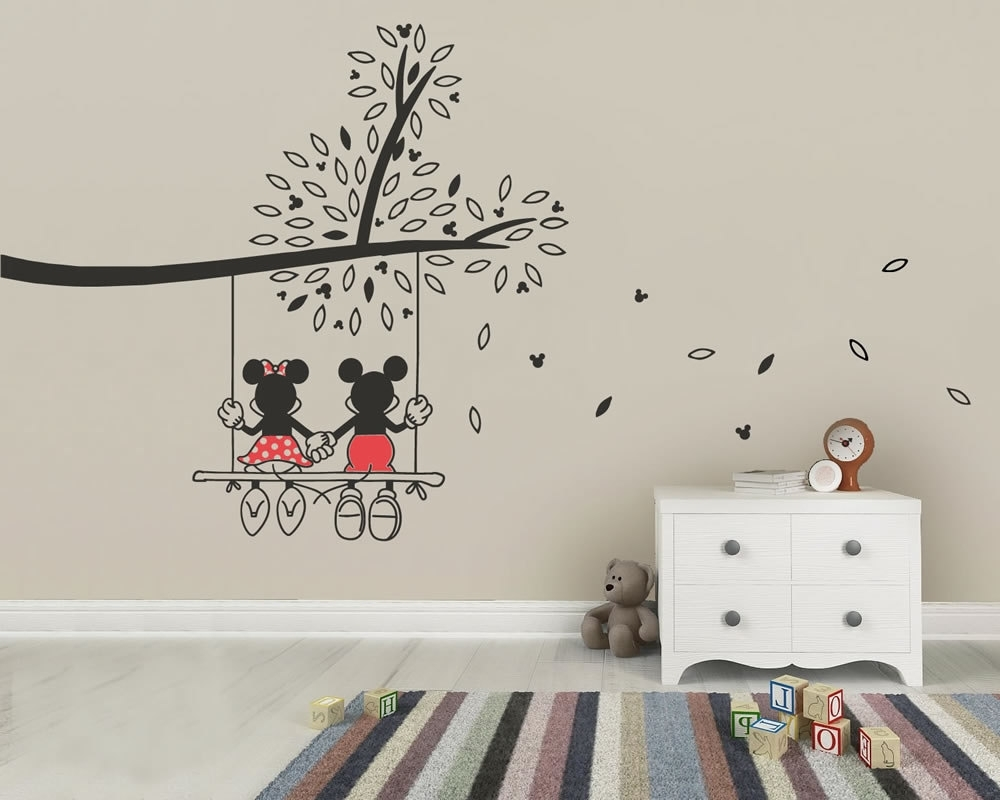 Newest Wall Art Decals Inside Decorative Tree Wall Art Decals : Andrews Living Arts – Tree Wall (View 9 of 15)