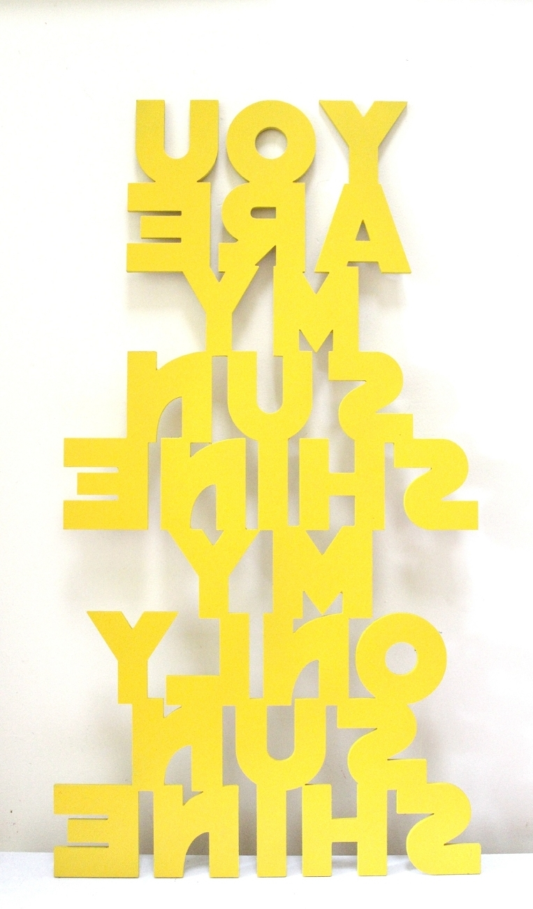 Newest You Are My Sunshine Wall Art For You Are My Sunshine Wall Sign/plaque Wall Art (View 4 of 15)