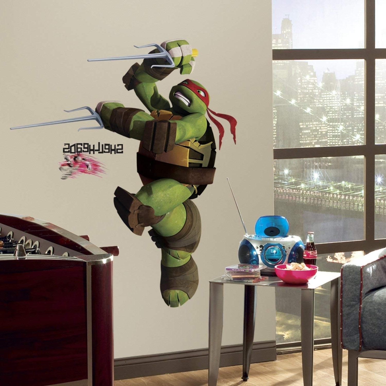 Ninja Turtle Wall Art Pertaining To Most Popular Amazon: Roommates Rmk2251Gm Teenage Mutant Ninja Turtles Ralph (View 9 of 15)