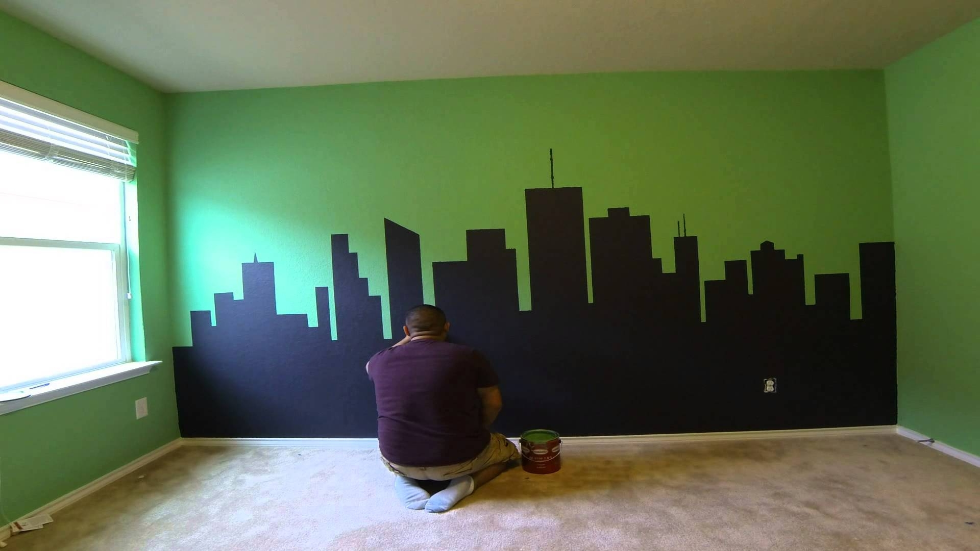 Ninja Turtle Wall Art With Most Up To Date Ninja Turtle Bedroom – Youtube (View 8 of 15)