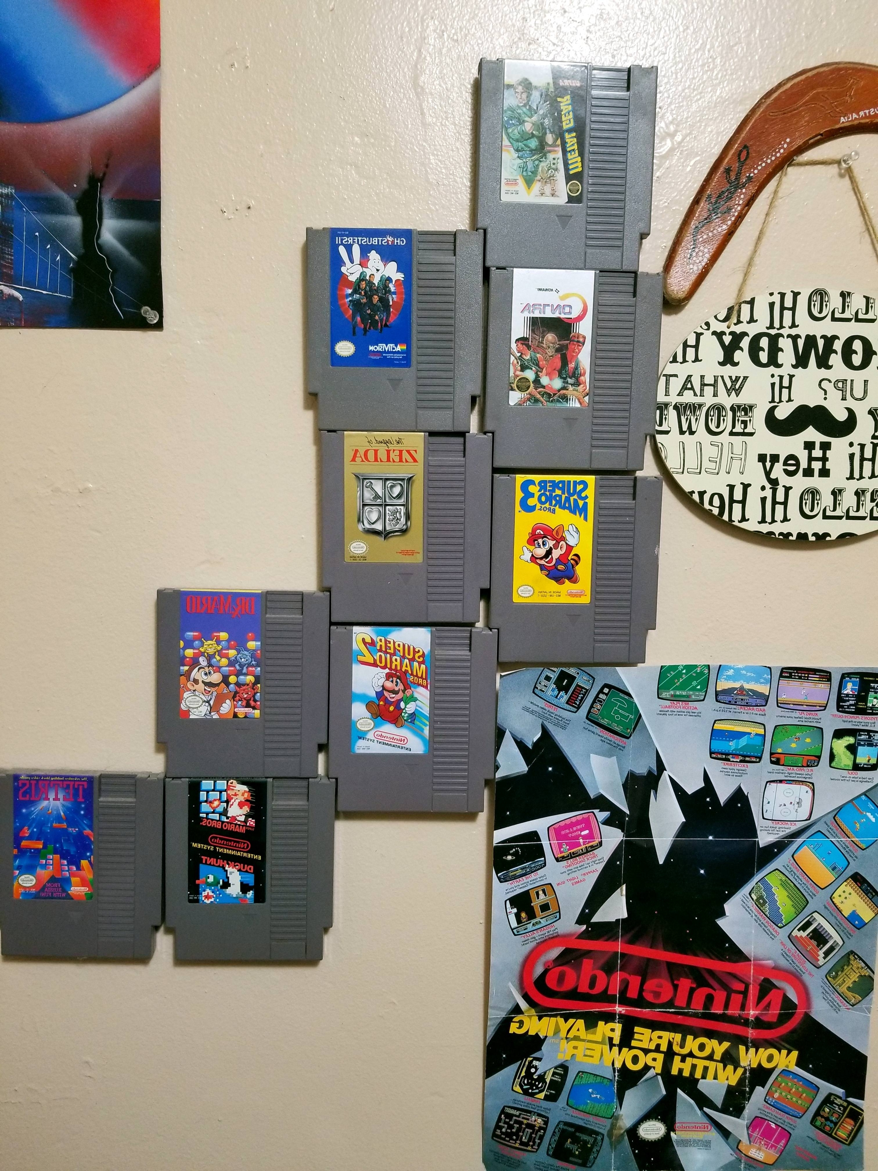 Nintendo Wall Art – Album On Imgur In 2017 Nintendo Wall Art (View 7 of 15)