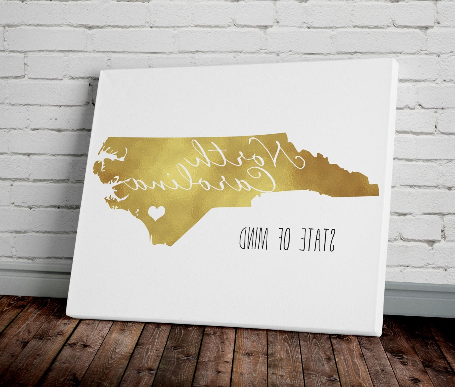 North Carolina Wall Art Pertaining To Latest North Carolina Wall Art – Arsmart (View 2 of 15)