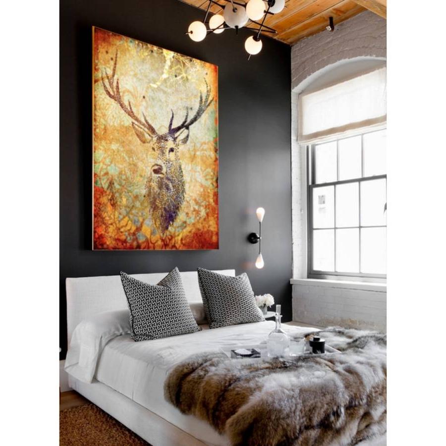 Notonthehighstreet In Deer Canvas Wall Art (View 10 of 15)