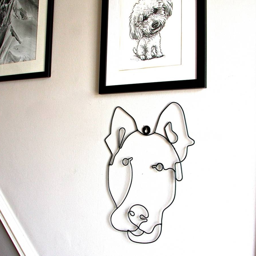 Notonthehighstreet Pertaining To Most Recent Wire Wall Art (View 10 of 15)