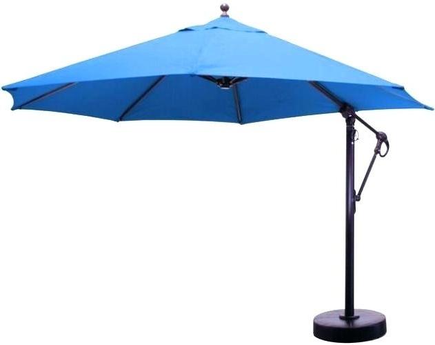 Offset Patio Umbrella Replacement Parts Hampton Bay Patio Umbrella For Current Hampton Bay Offset Patio Umbrellas (View 7 of 15)