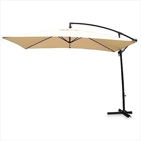 Offset Rectangular Patio Umbrellas Within Current Offset Rectangular Patio Umbrella » Awesome Rectangular Offset (View 9 of 15)