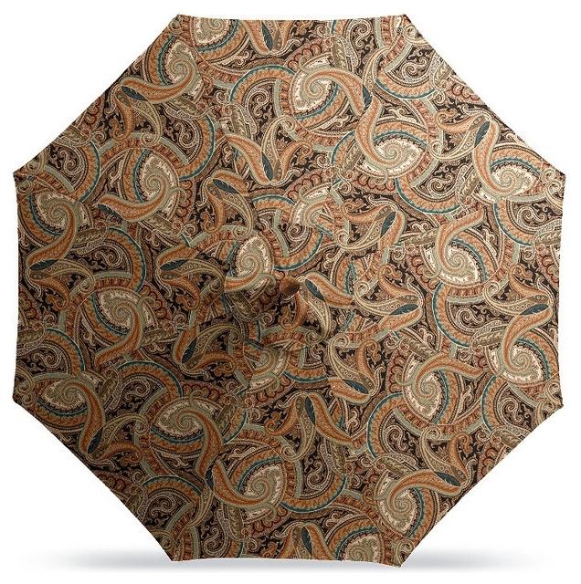 Outdoor Market Patio Umbrella In Sunbrella Coachella Jewel – Bronze Throughout Latest Jewel Patio Umbrellas (View 11 of 15)