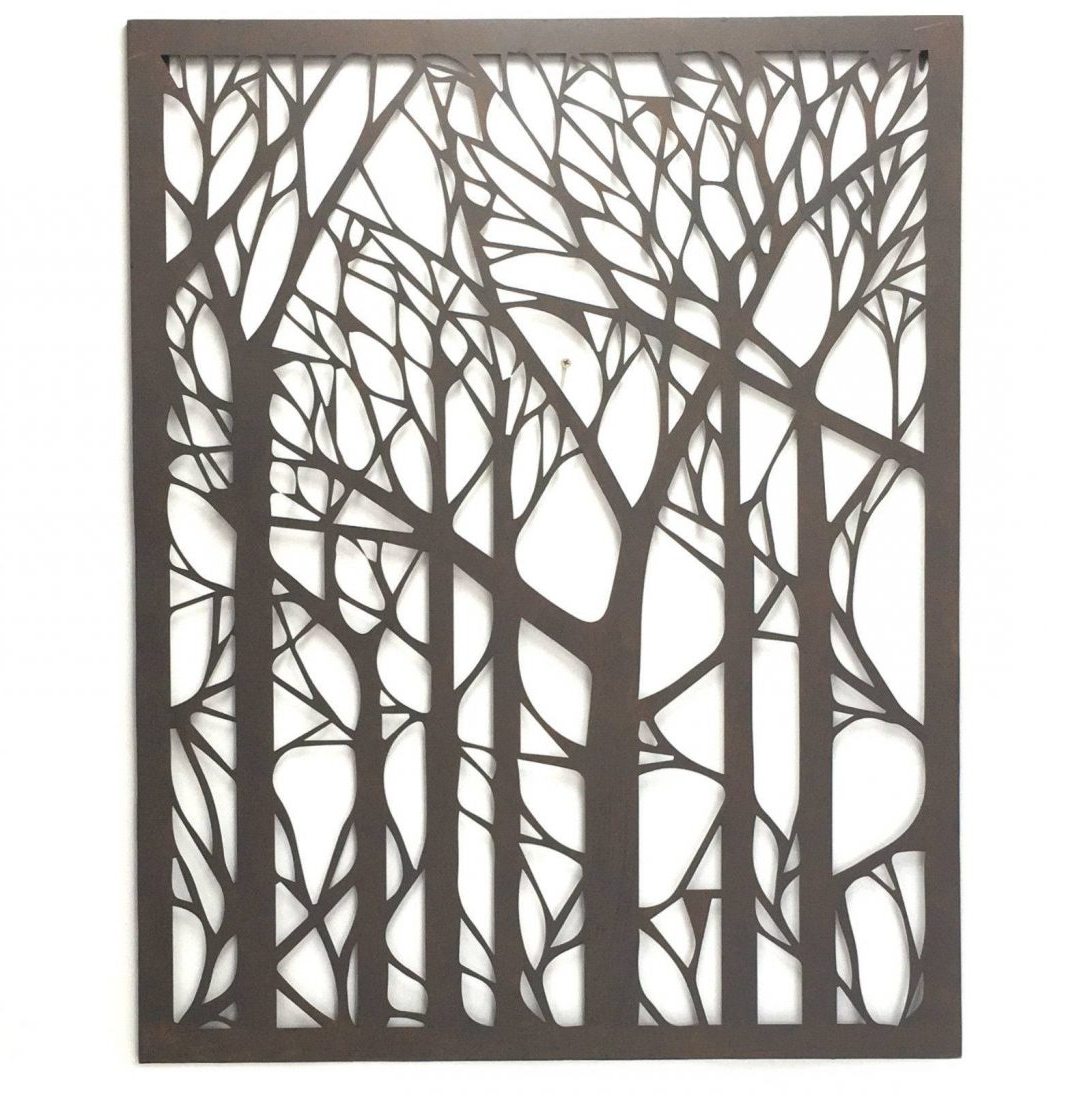 Outdoor Metal Wall Art in Most Recently Released Extra Large Outdoor Metal Wall Art With Plus Together As Well And