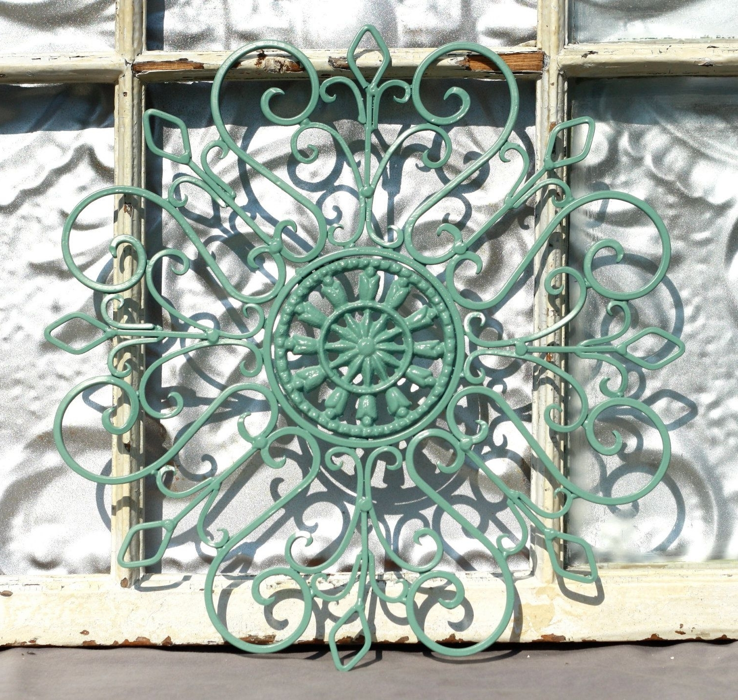Outdoor Metal Wall Art With Regard To Most Popular Wrought Iron Wall Decor/ Metal Wall Hanging/ Indoor/ Outdoor Metal (View 2 of 15)