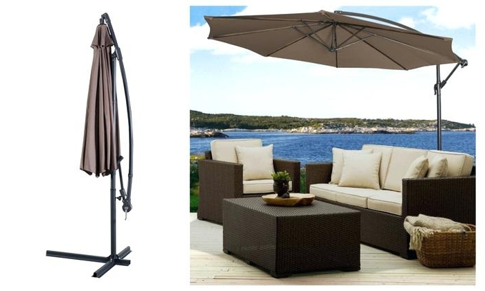 Outdoor Patio Umbrellas Sunbrella Lowes For Sale – Tourdeporkride With Regard To Famous Patio Umbrellas At Lowes (View 8 of 15)