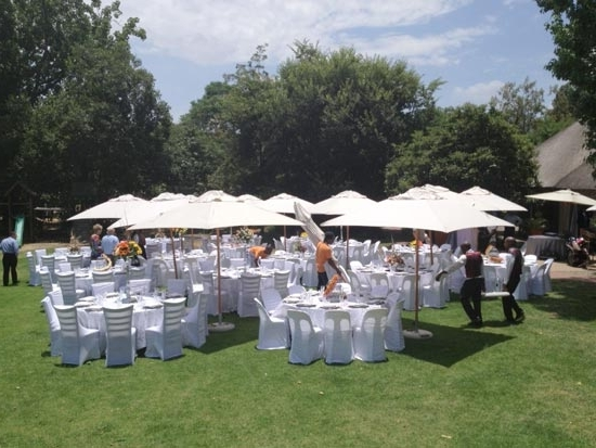 Outdoor Umbrella Rental For Functions And Weddings In Gauteng With Best And Newest Patio Umbrellas For Rent (View 6 of 15)