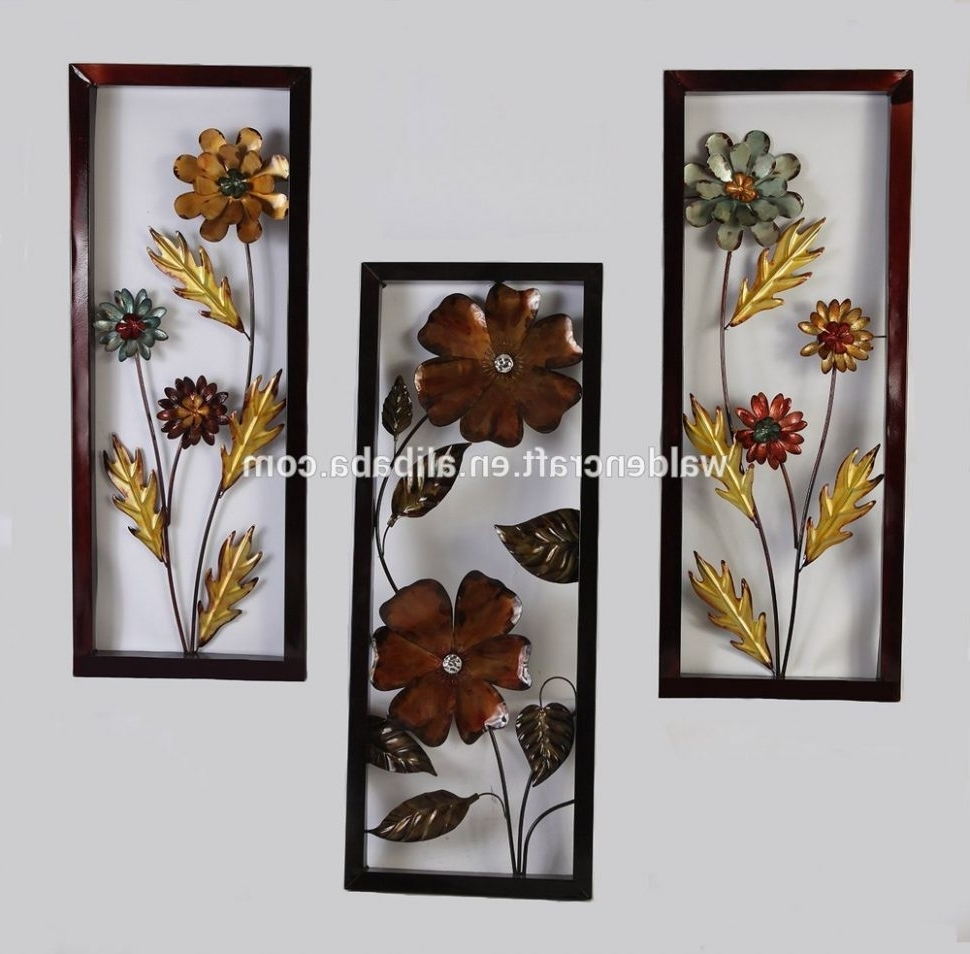 Outdoor Wall Art Decors Pertaining To Well Liked Wrought Iron Wall Decor Large Metal Wall Art Decor Large Metal Wall (View 11 of 15)