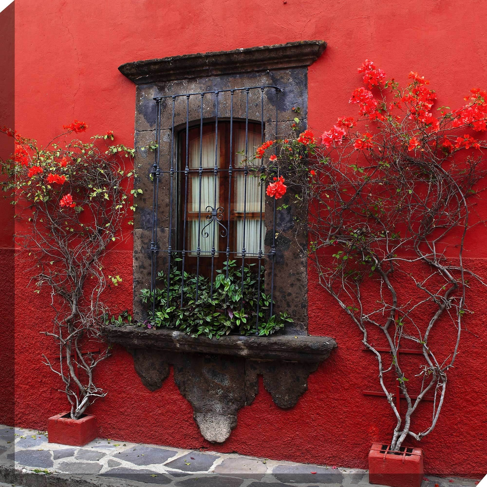 Outdoor Wall Art Intended For Popular Roses In Red Outdoor Wall Art Piecewest Of The Wind (View 9 of 15)