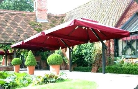 Oversized Patio Umbrellas Within Well Known Oversized Patio Umbrella Terior – Patio Furniture (View 15 of 15)