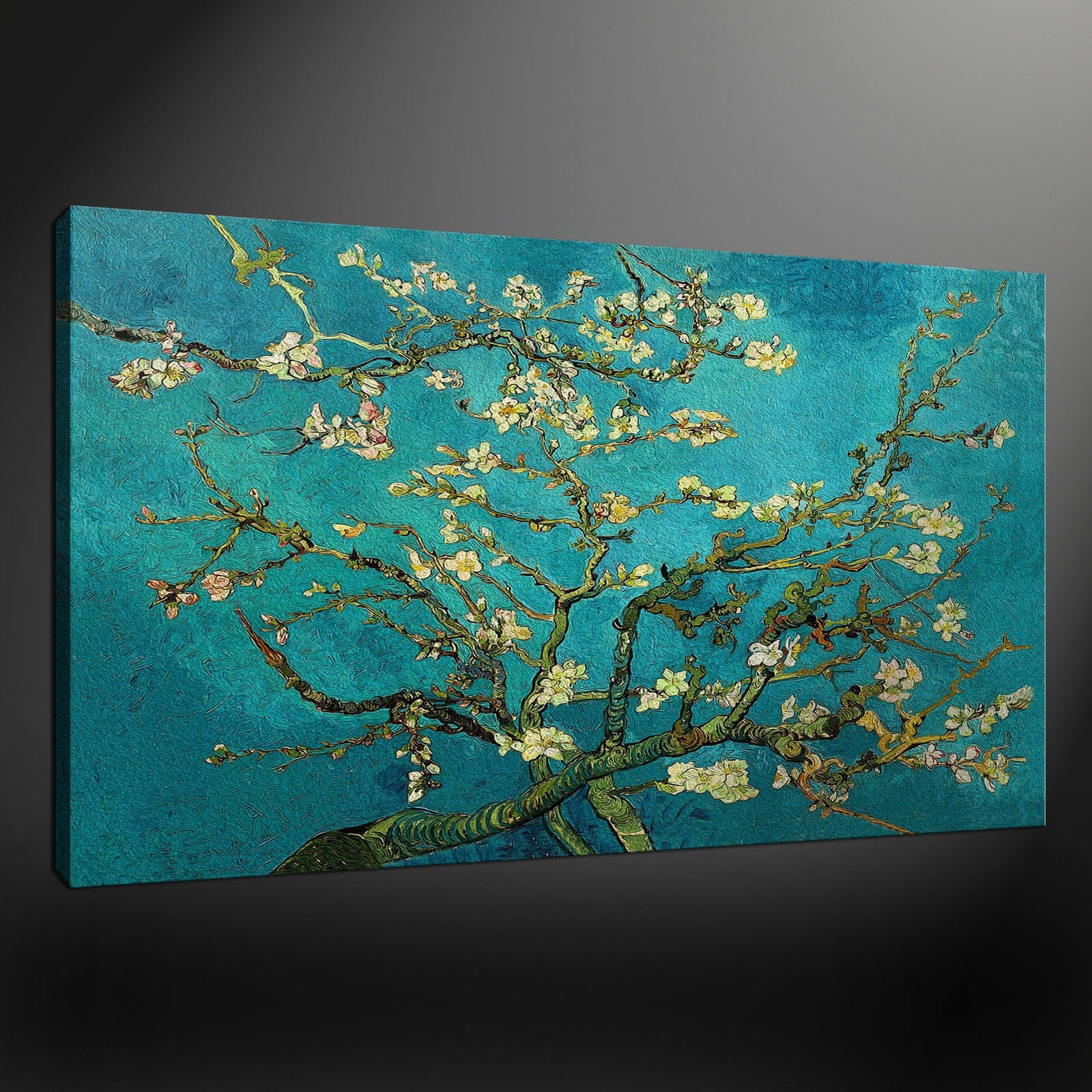 Featured Photo of Oversized Teal Canvas Wall Art