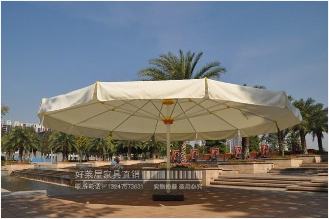 Oversized Umbrellas For Patio Correctly » Elysee Magazine Regarding Most Recent Oversized Patio Umbrellas (View 11 of 15)