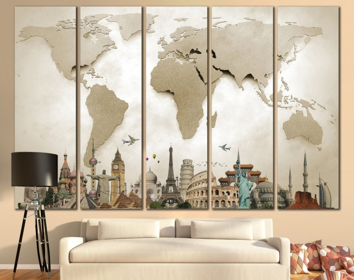 Oversized Wall Art Contemporary Inexpensive Beautiful Within Most Recent Cheap Large Wall Art (View 11 of 15)
