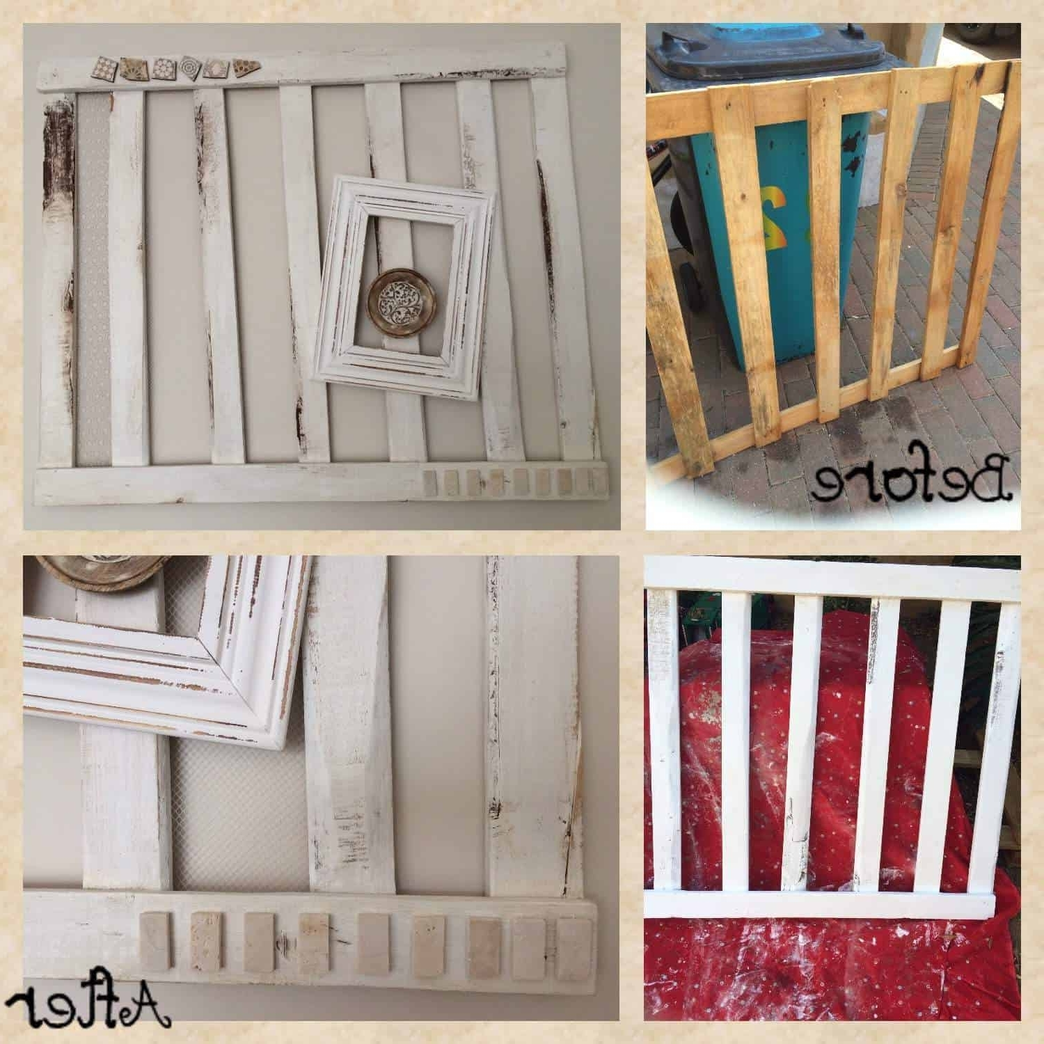 Pallet Wall Art In Most Up To Date Decorative Pallet Wall Art • 1001 Pallets (View 8 of 15)