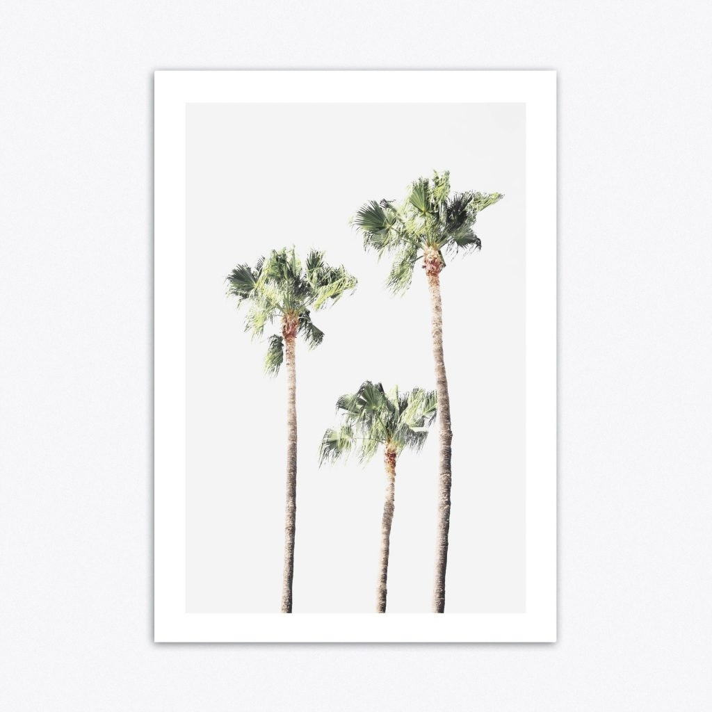 Palm Tree Wall Art – Culturehoop With Favorite Palm Tree Wall Art (View 11 of 15)