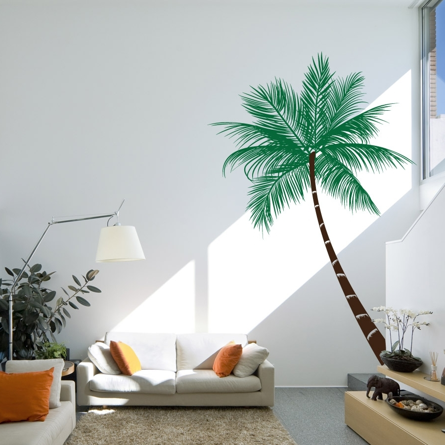 Palm Tree Wall Art Sample : Andrews Living Arts - The Charm Of Palm with regard to Preferred Palm Tree Wall Art