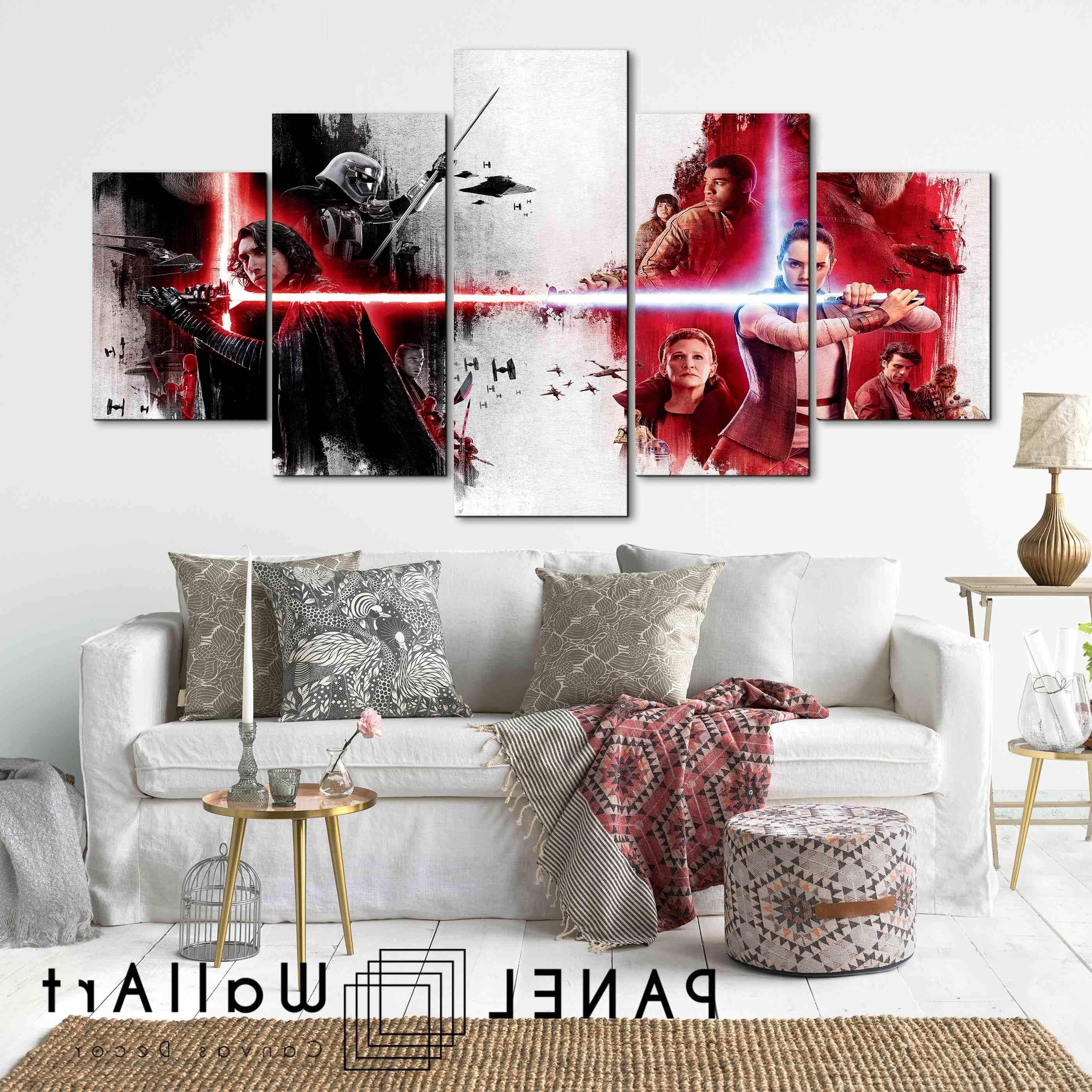 Panel Wall Art  Panelwallart For Star Wars Wall Art (View 4 of 15)