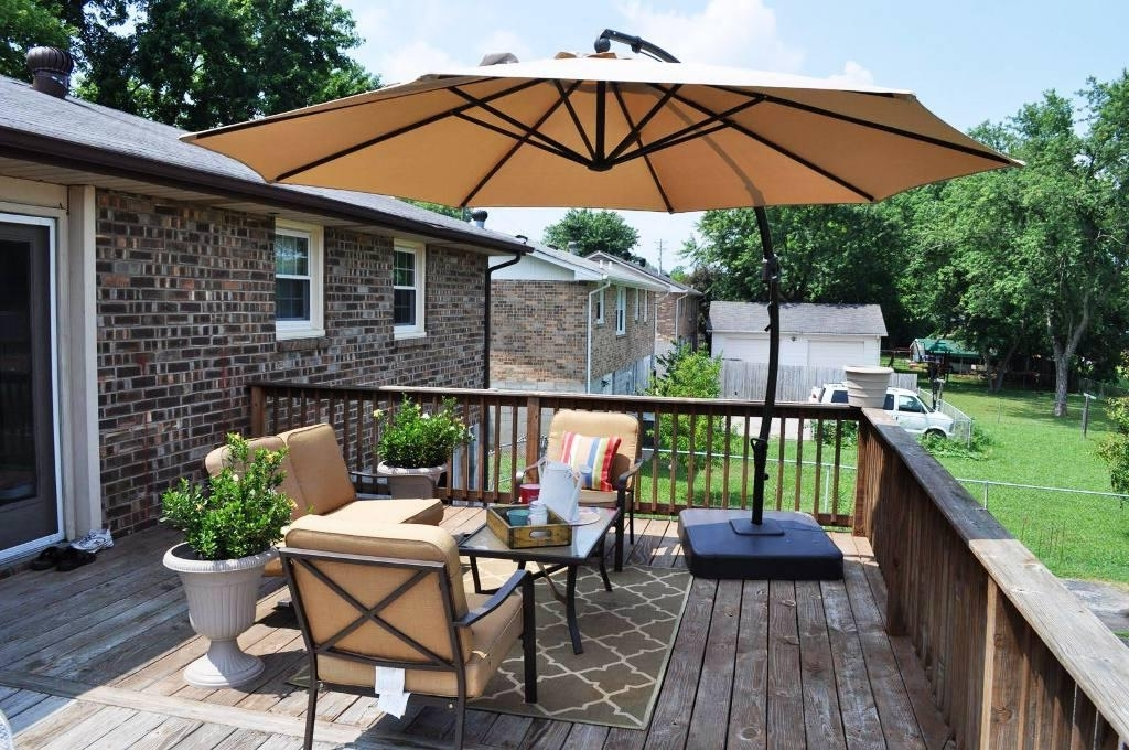 Patio Deck Umbrellas For Famous Outdoor Deck Umbrella — Veterans Against The Deal : Enjoyment Deck (View 6 of 15)