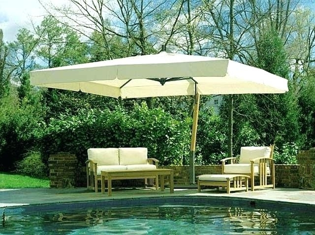 Patio ~ Large Patio Umbrellas Extra Umbrella Sams Club Large Patio Intended For Most Recently Released Sams Club Patio Umbrellas (View 9 of 15)